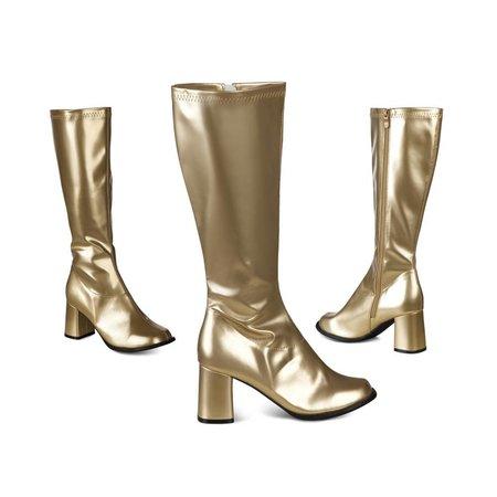 Laarzen dame goud