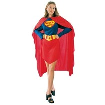 Super Heldin kostuum vrouw