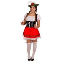 Sexy Tiroolse partygirl jurk