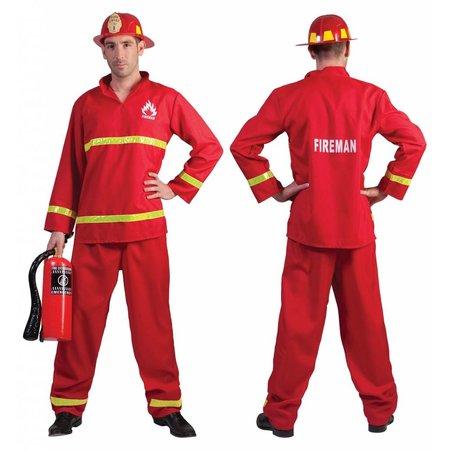 Brandweer kostuum man Sam
