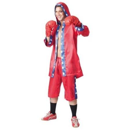 Bokskampioen kostuum man