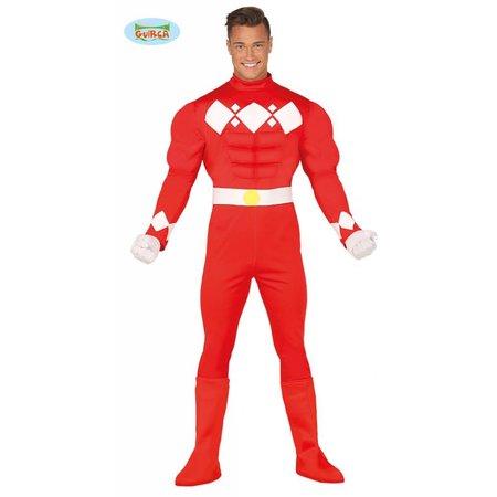 Gespierde superheld outfit