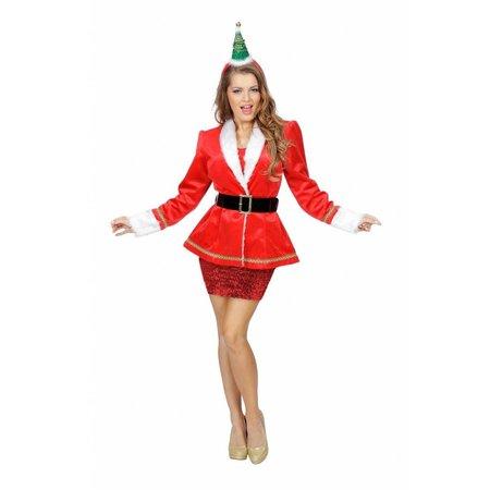 Toppers kerst colbert dames