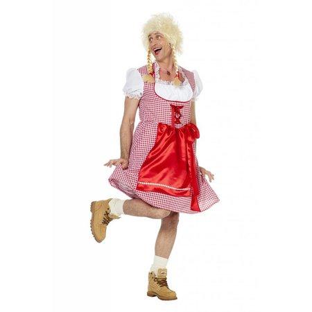 Foute Tiroler jurk man
