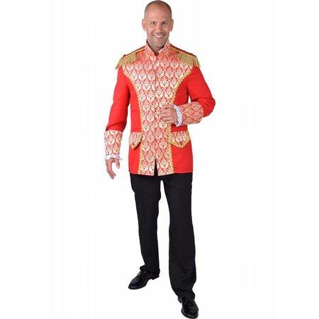 Mantel Brocaat Royal Rood