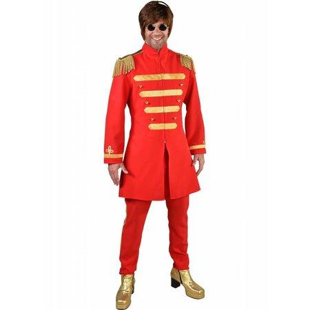 Sgt. Pepper Kostuum Rood