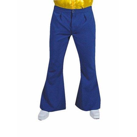 Hippie broek blauw man