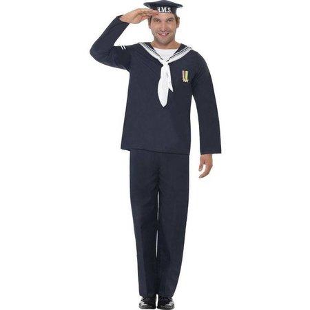 Marine kostuum man Henry