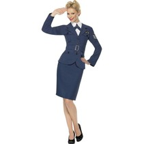Air Force kapitein kostuum 40's dame