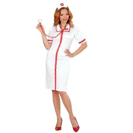 Deftige verpleegster kostuum