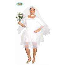 Vrijgezellenpak Bruidsjurk man