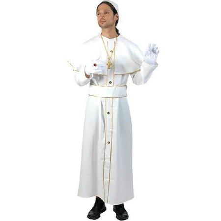 Paus Johannes kostuum 3-delig