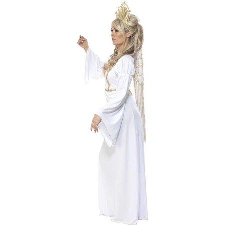 Engelenkostuum met vleugels vrouw
