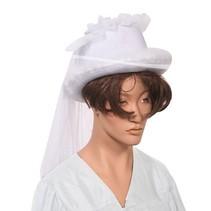 Bruidshoed met sluier