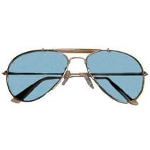 Bril piloot blauw