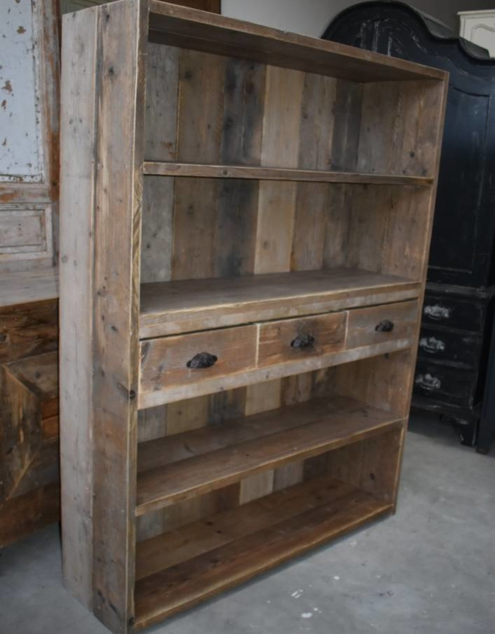 Vintage Barnwood Kast