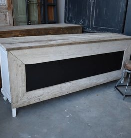 Vintage  Counter  with Chalk board