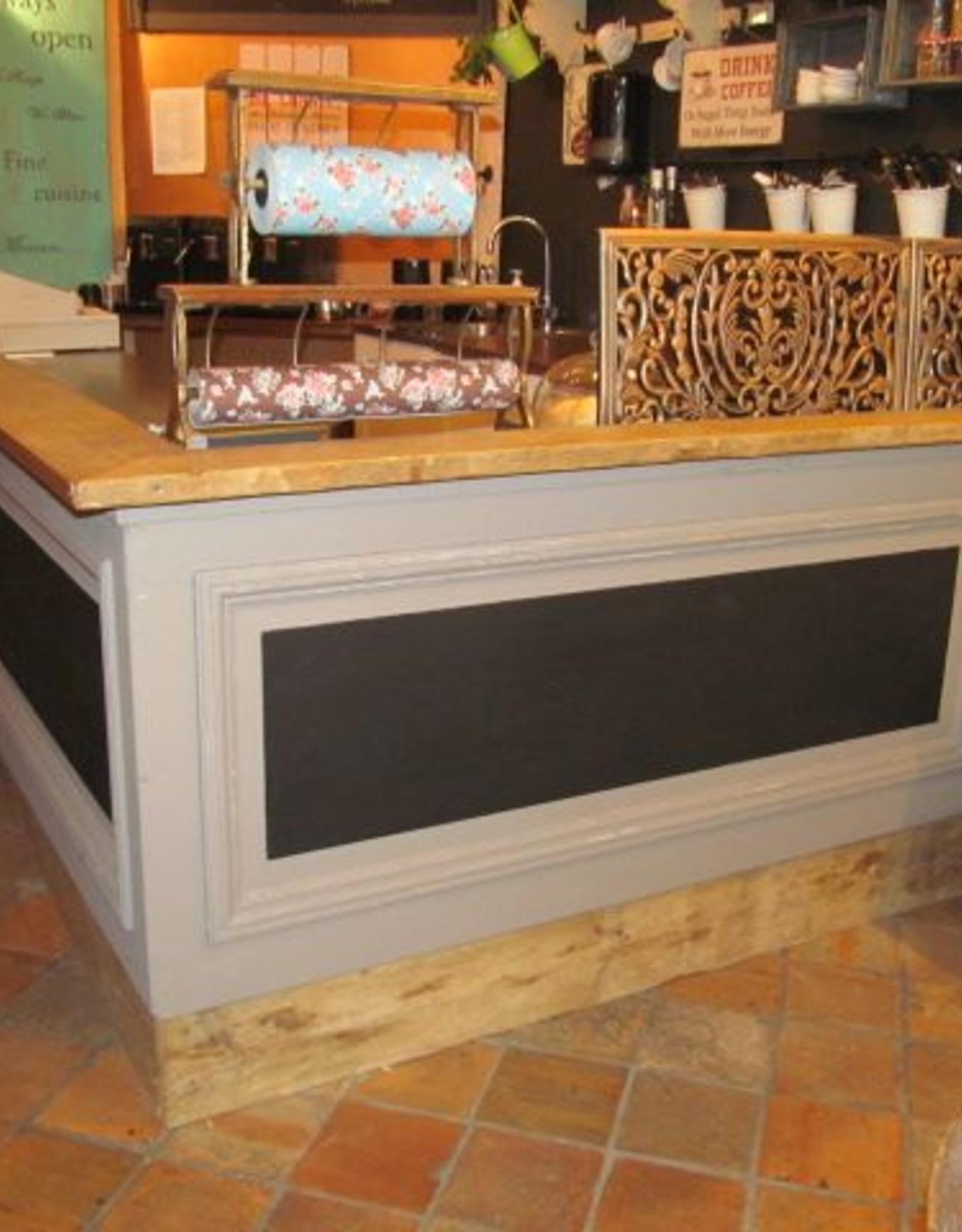 Bar, counter & counter paneling / renovation