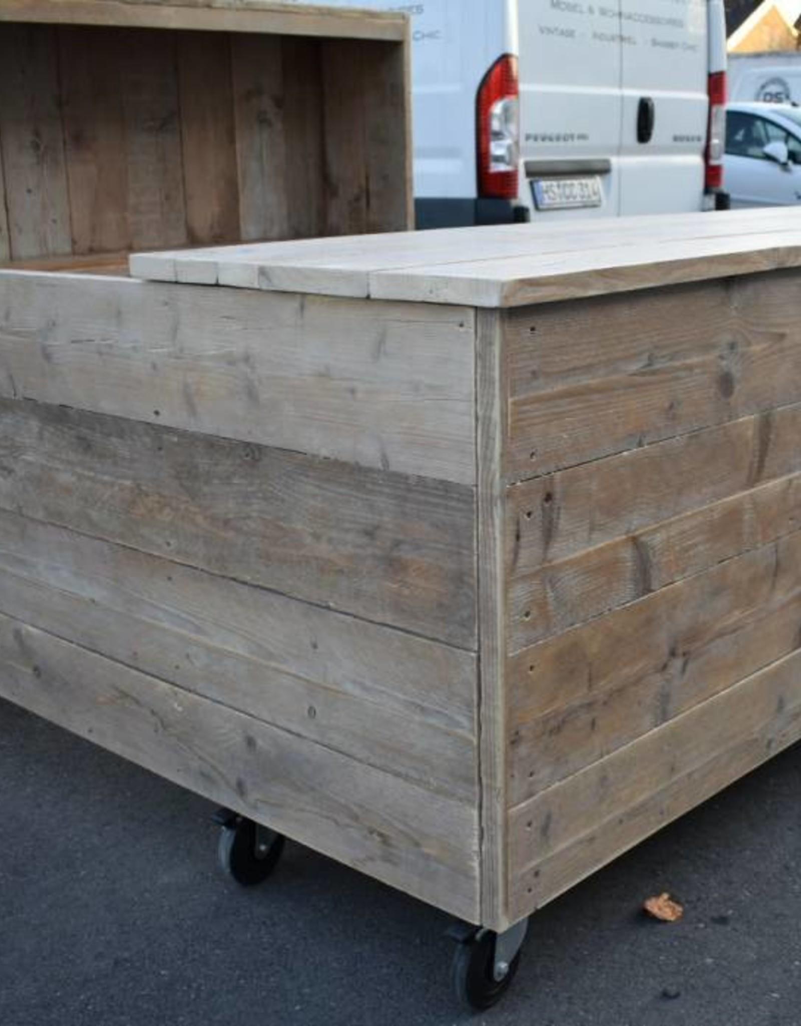 Toonbank op maat van Vintage hout
