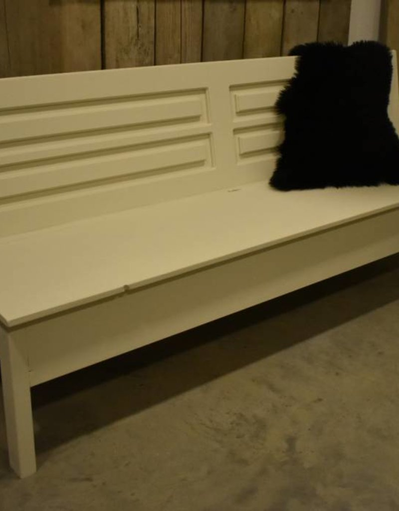 Wooden bench with  storage 150, 180 or 200 cm