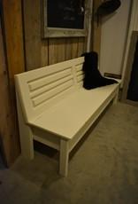 Holzbank mit  Stauraum 150, 180 oder 200 cm