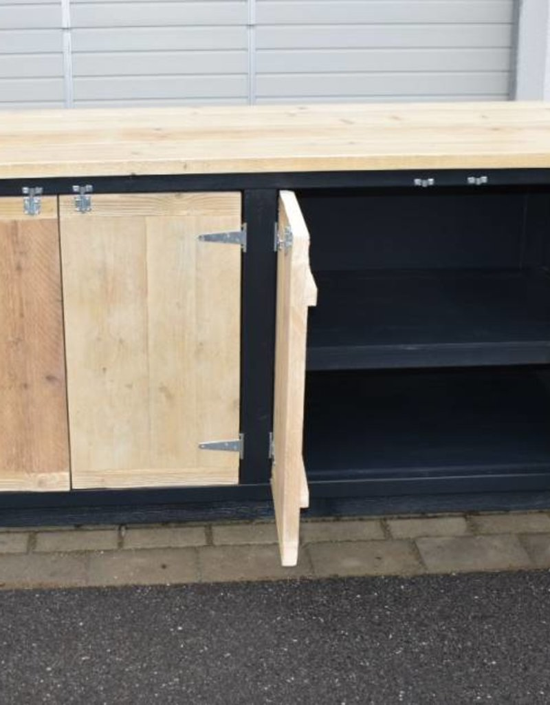 Vintage country Kitchen Island / Sideboard