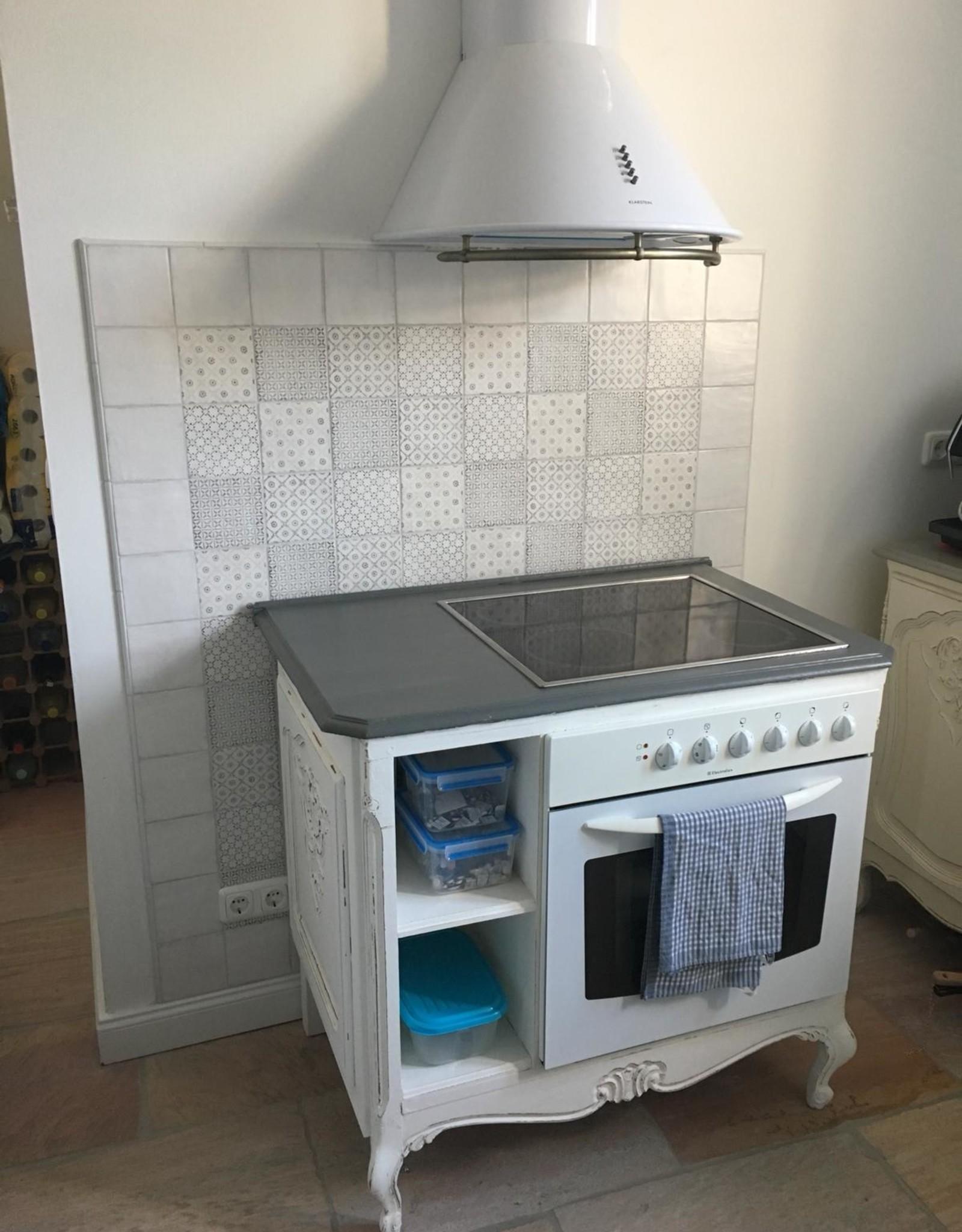 Bijzondere  Oven & kookplaat kast