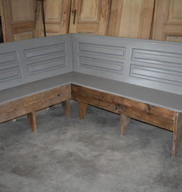 Vintage corner benches all dimensions