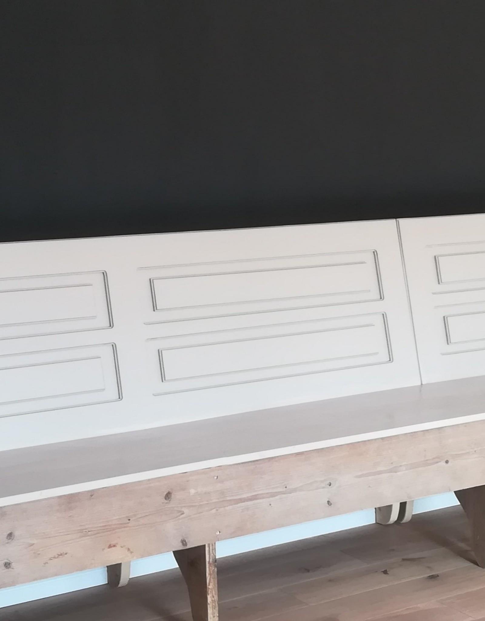 Vintage houten bank in meerdere maten verkrijgbaar