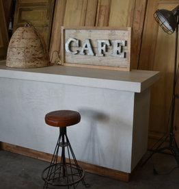 Waxed Concrete Counter / Bar