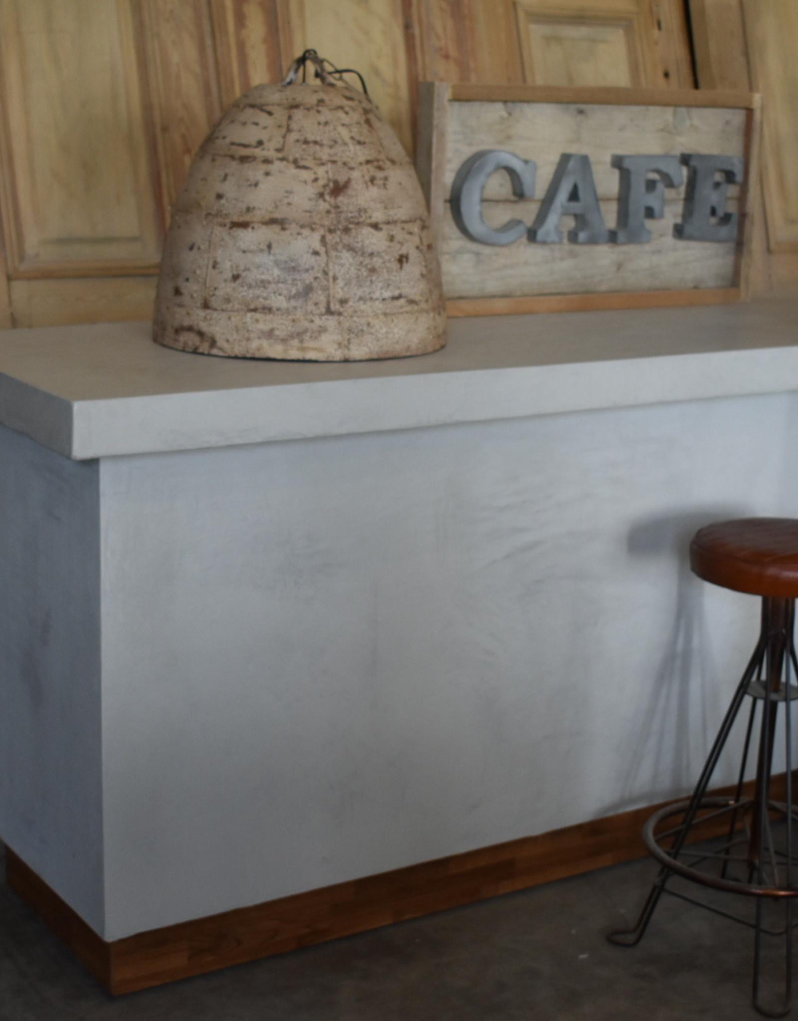 Theke / Bar gewachster Beton / Beton Ciré