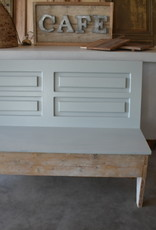 Klepbank  & Vintage hout 150 , 180 of 200 cm