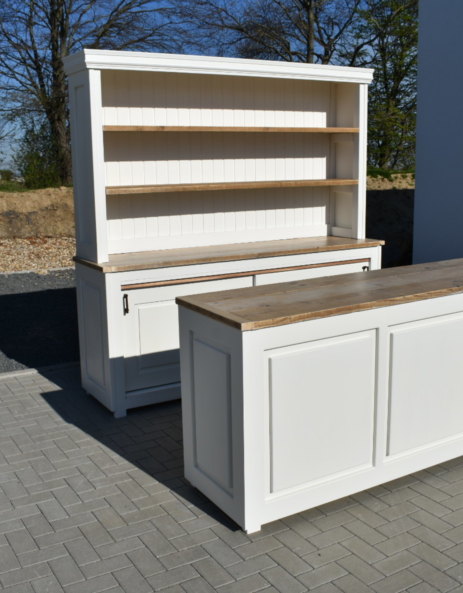 Set: Store Cabinet & counter