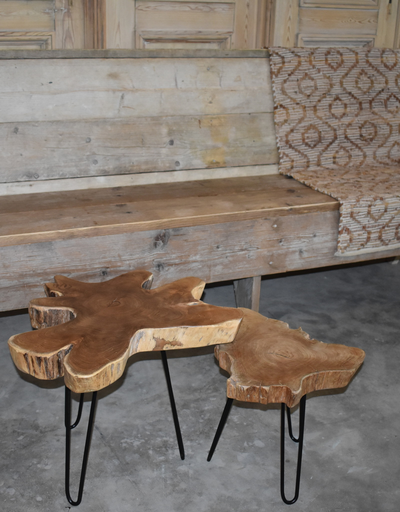 Bench Vintage Wood from 120 cm and longer