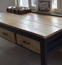 Verkooptafel / Winkel tafel / Werktafel  zwart