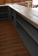 Vintage corner counter / bar / reception counter all dimensions