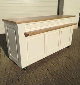 Vintage  Counter Oak top & shelf 160 / 180 / 200 or 220 cm