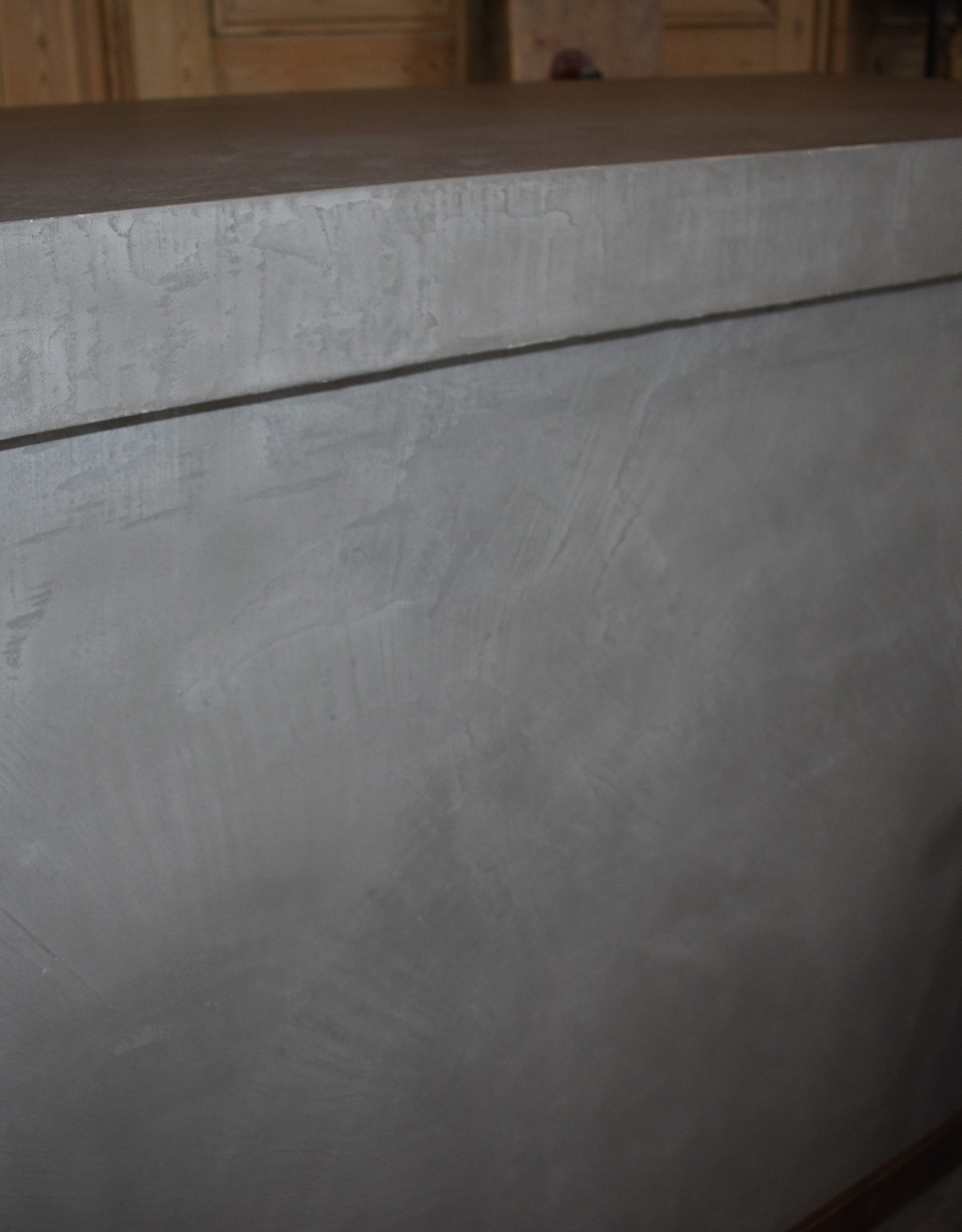 Waxed Concrete Counter / Kitchen Island