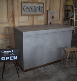Waxed Concrete Counter / Kitchen Island