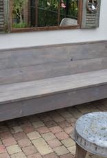 Holzbank Vintage Holz ab 120 cm und länger GRAU