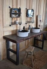 Waschbeckenmöbel  Waschtisch Vintage design