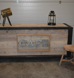 Vintage Industry Counter / Bar