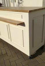 Toonbank  Eiken blad  &  Plank 160 / 180 / 200 of 220 cm