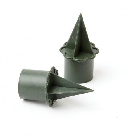 OASIS® FLORAL PRODUCTS OASIS® Kaarshouder Candleholder | Ø2.5cm x 6cm hoog (2.5cm houder, 3.5cm steek) | 25stuks