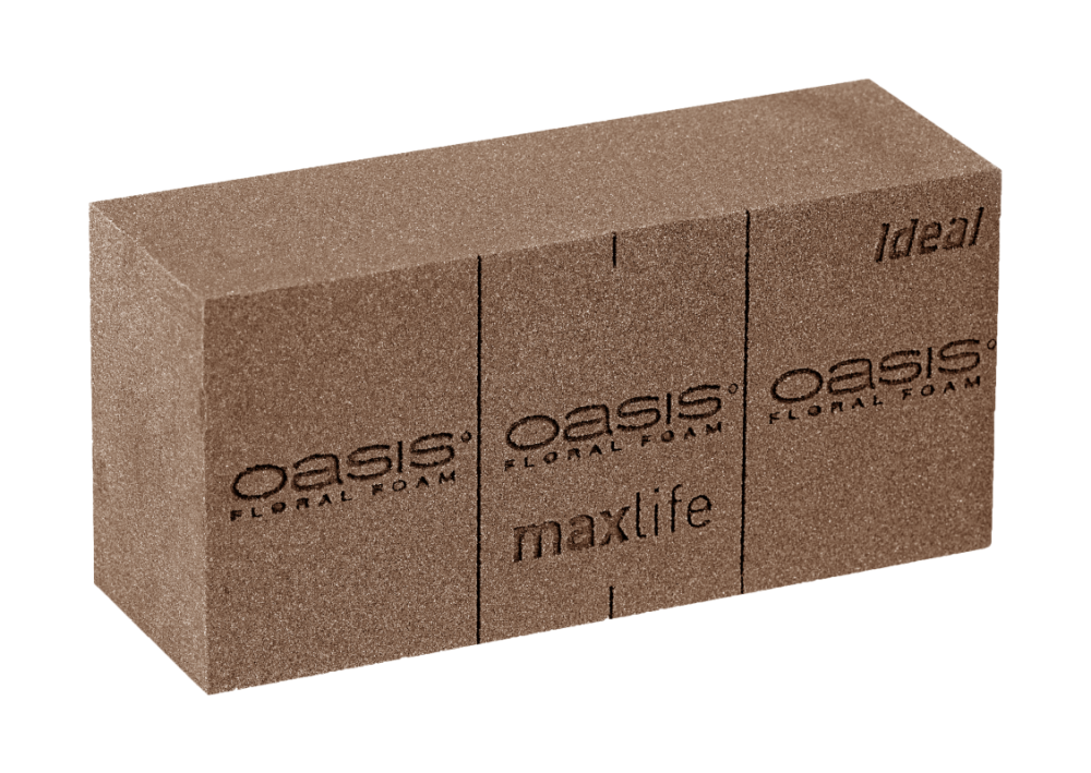 OASIS® FLORAL FOAM BIO FLORAL FOAM 23x11x8cm | 20st