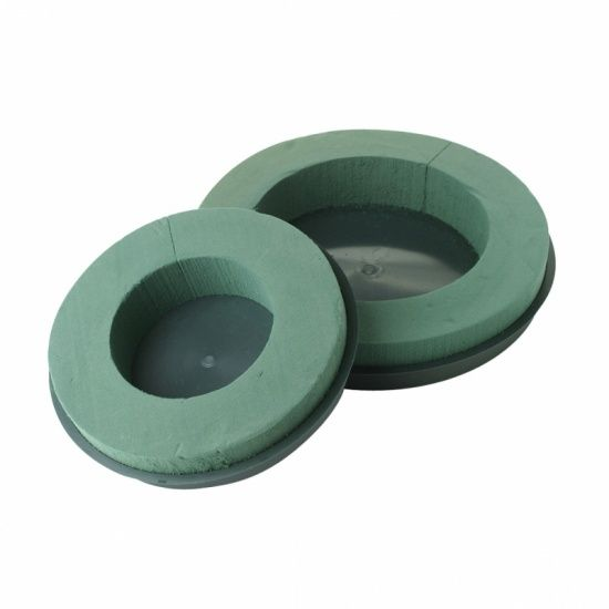 OASIS® FLORAL FOAM Design Ring-Krans  Ø24x4,5cm | 2 stuks