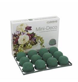 OASIS® FLORAL FOAM Mini Deco Ø5x3,5cm | 12st