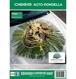 OASIS® FLORAL FOAM Auto Rondella Ø20x13cm | 2 stuks