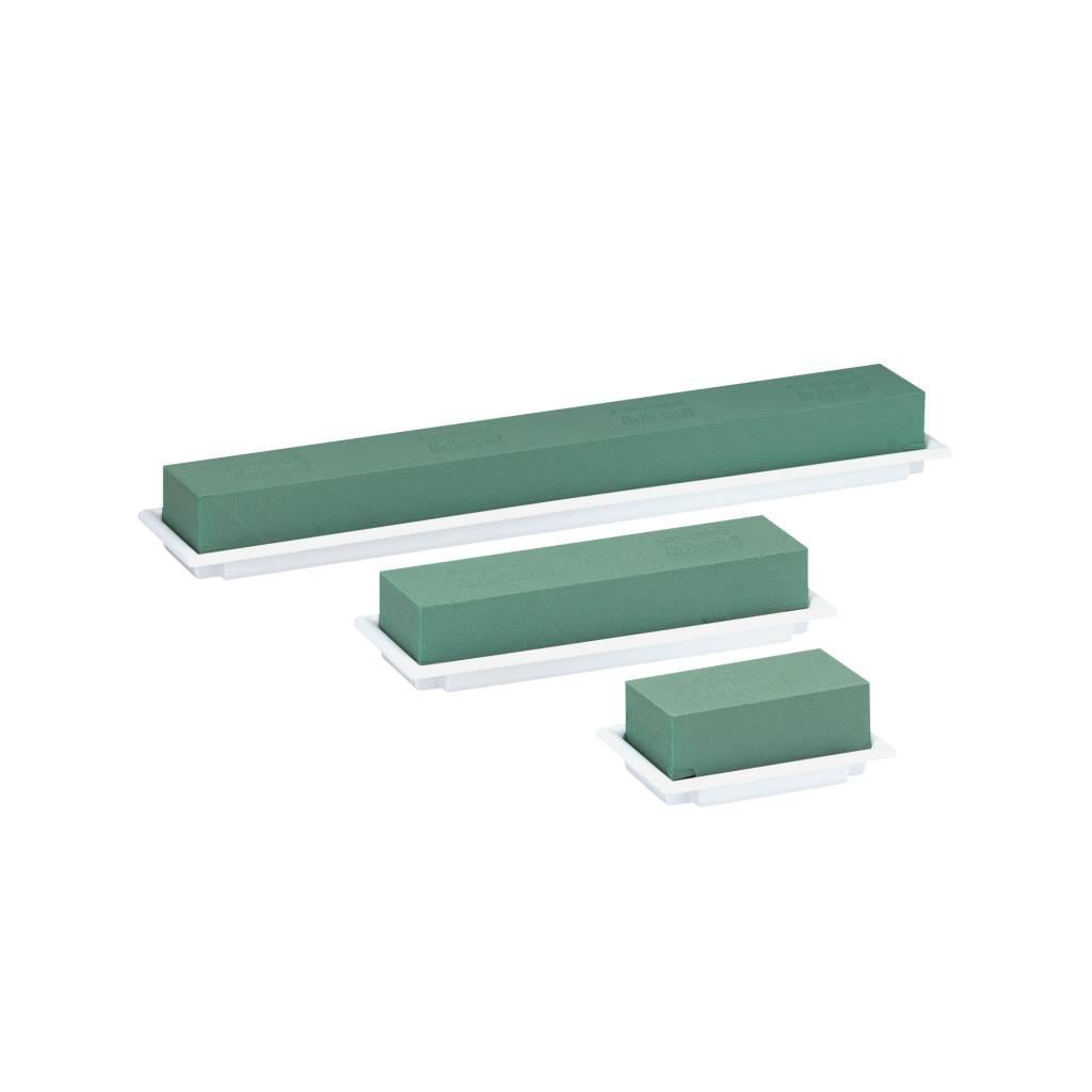 OASIS® FLORAL FOAM Table Deco Medi 25x9x5cm- Wit | 4 stuks