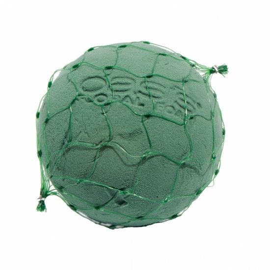 OASIS® FLORAL FOAM IDEAL Bal-Bol in Net Ø12cm | 3 stuks